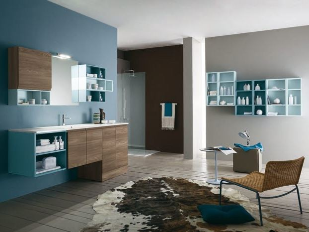 Bathroom furniture set AB 6150 - RAB Arredobagno