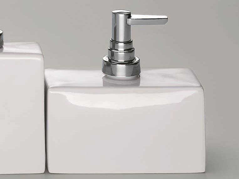 Porcelain liquid soap dispenser DW 6280 - DECOR WALTHER