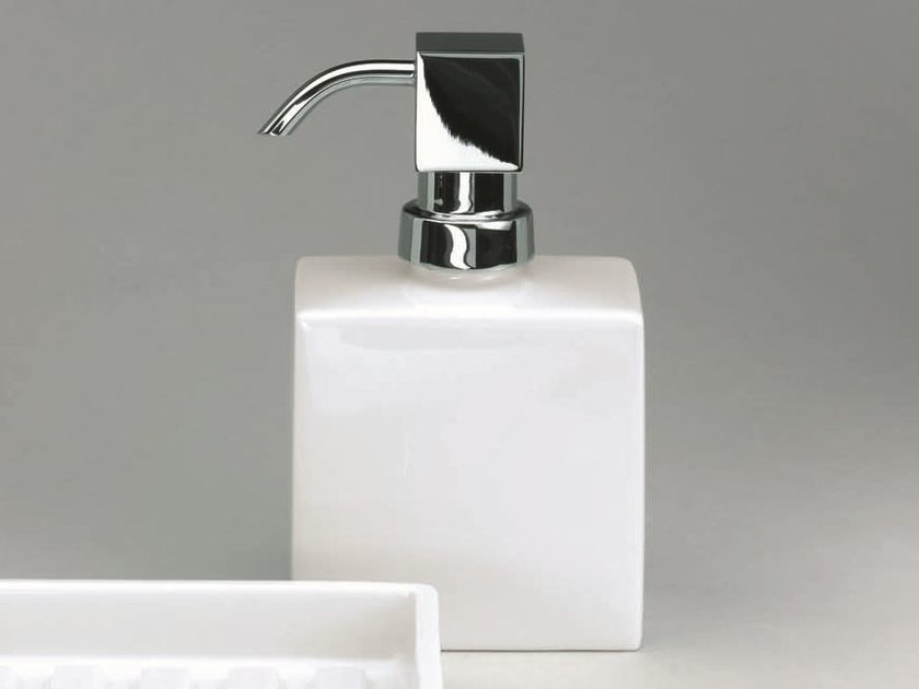Porcelain liquid soap dispenser DW 6260 - DECOR WALTHER