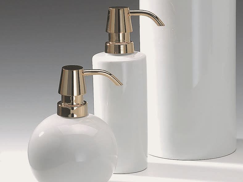 Porcelain liquid soap dispenser DW 6350 - DECOR WALTHER