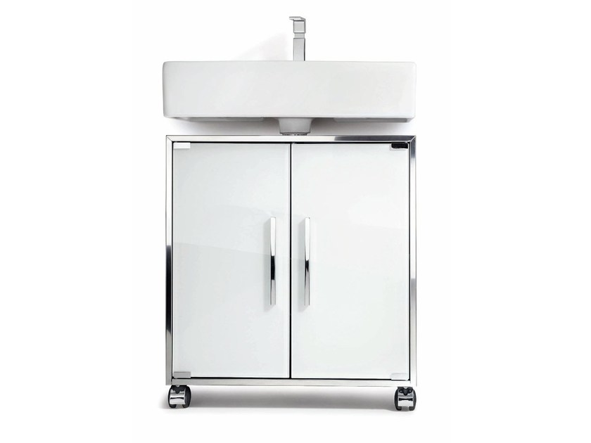 Single vanity unit with doors WTU 1 - DECOR WALTHER
