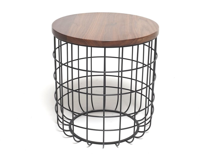 Round coffee table for living room WIRE | Coffee table - Dare Studio