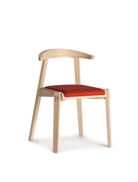 Design wooden chair PLUG | Chair - CIZETA