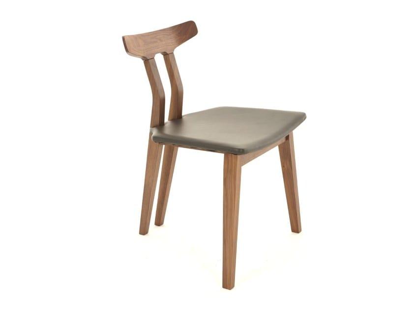 Wooden chair SPLINE - Dare Studio