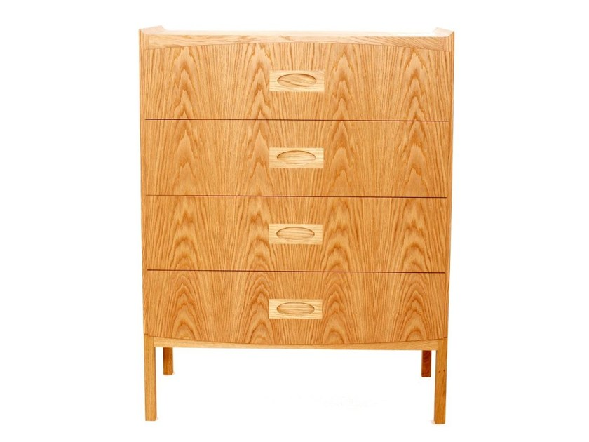 Free standing wooden chest of drawers MORGAN | Chest of drawers - Dare Studio