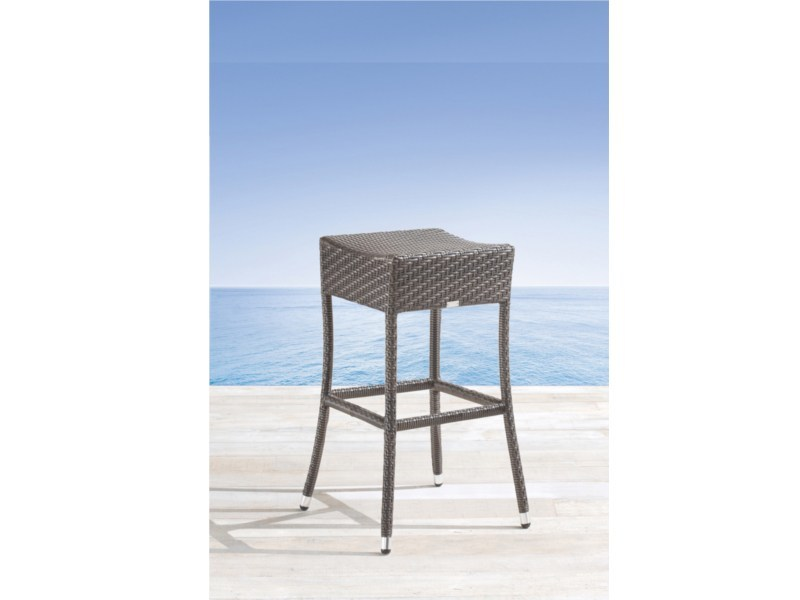 High stainless steel garden stool PAPAYA | Garden stool - Roberti Rattan