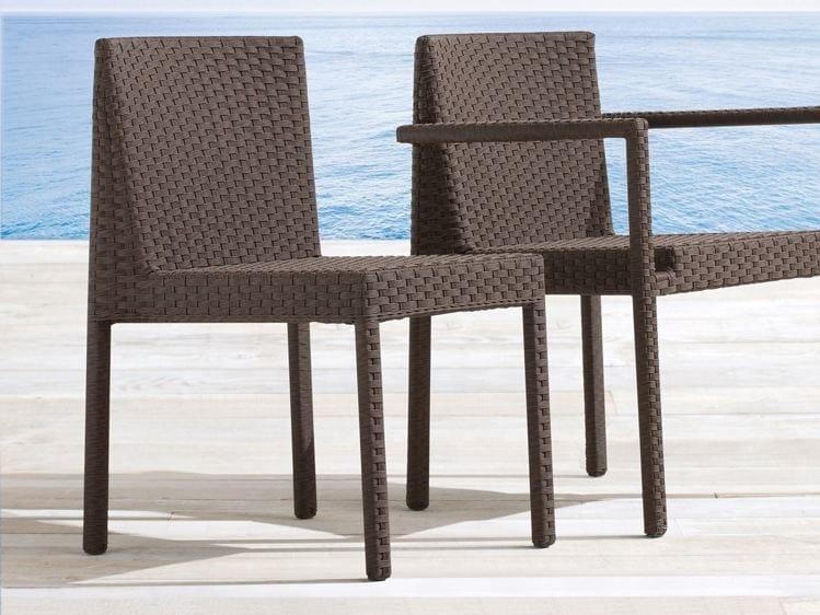 Stackable aluminium garden chair SAINT TROPEZ | Garden chair - Roberti Rattan