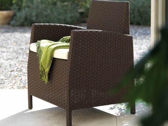 Garden armchair with armrests SAINT TROPEZ | Garden armchair - Roberti Rattan