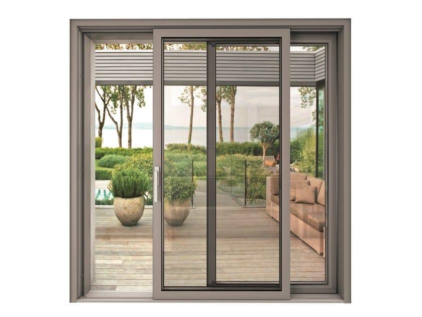 Porta finestra scorrevole blindoklima steel finestra - Porta finestra scorrevole ...