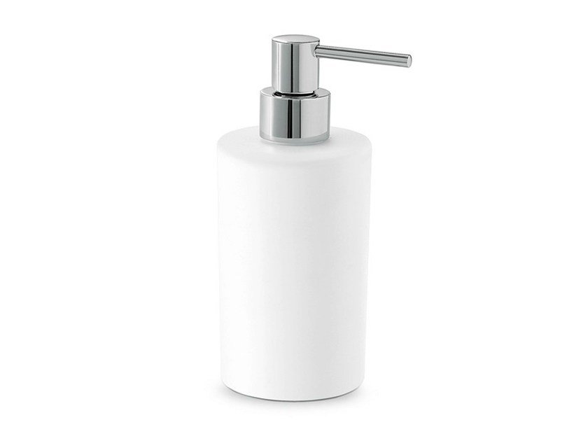 Ceramic liquid soap dispenser LINFA - O'RAMA ACCESSORIES | Liquid soap dispenser by NEWFORM