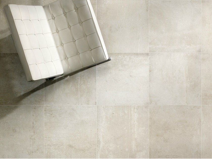 Porcelain stoneware wall/floor tiles with resin effect RESINE BLANC by EDIMAX CERAMICHE