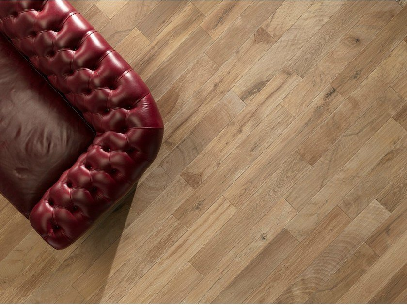 Porcelain stoneware wall/floor tiles with wood effect WOOD_KER NUT - EDIMAX CERAMICHE