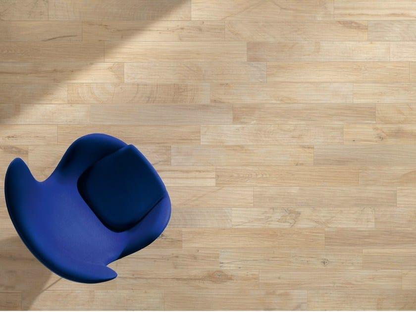 Porcelain stoneware wall/floor tiles with wood effect WOOD_KER CREAM - EDIMAX CERAMICHE