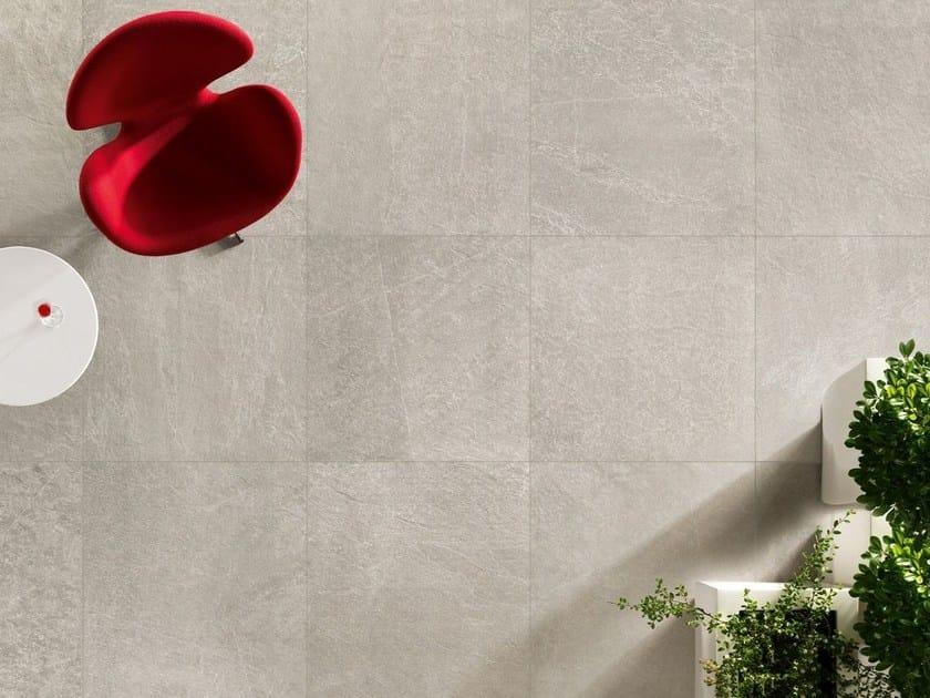 Porcelain stoneware wall/floor tiles with stone effect ARKESIA CENERE by EDIMAX CERAMICHE