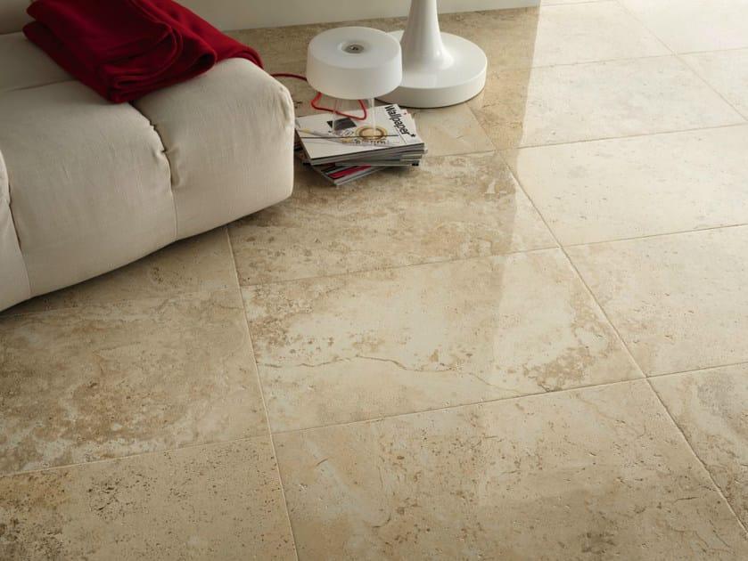 Pavimento rivestimento in gres porcellanato effetto marmo for Gradini gres porcellanato