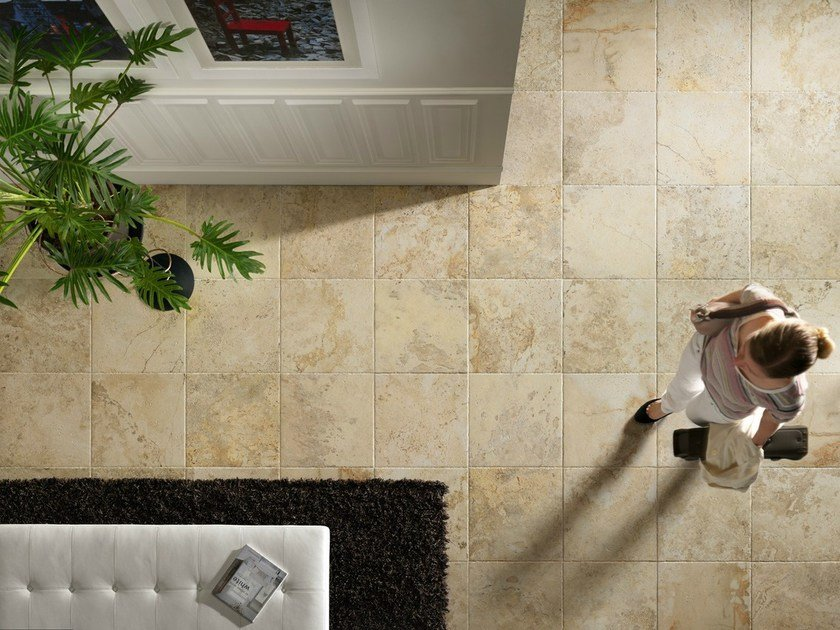 Porcelain stoneware wall/floor tiles with marble effect INSTONE GOLDEN - EDIMAX CERAMICHE