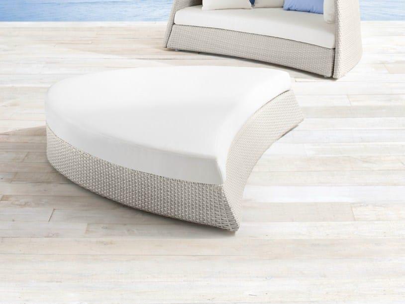 Aluminium garden footstool IGLOO | Garden footstool - Roberti Rattan