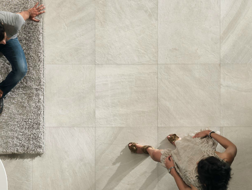 Porcelain stoneware wall/floor tiles with stone effect NORDICA BIANCA - EDIMAX CERAMICHE