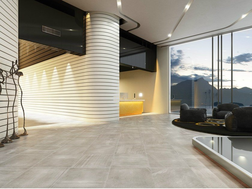 Porcelain stoneware wall/floor tiles with stone effect SANDS GREY - EDIMAX CERAMICHE