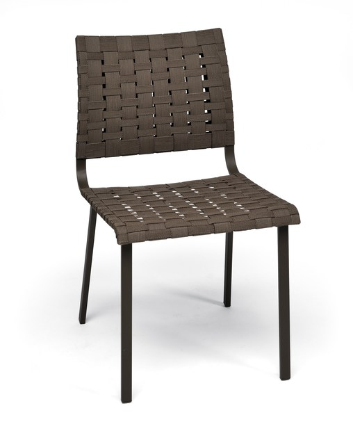 Steel garden chair HAMPTONS GRAPHICS | Garden chair - Roberti Rattan