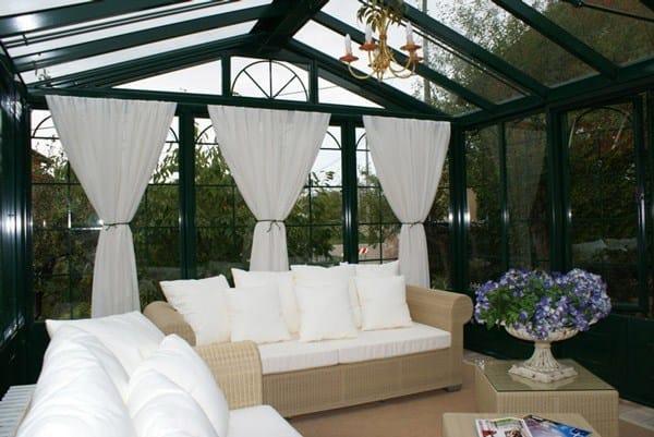 Giardino d 39 inverno in ferro e vetro british style cagis for Arredo urbano in inglese