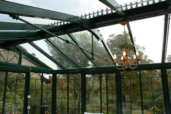 Giardino d 39 inverno in ferro e vetro british style cagis - Giardino d inverno normativa ...