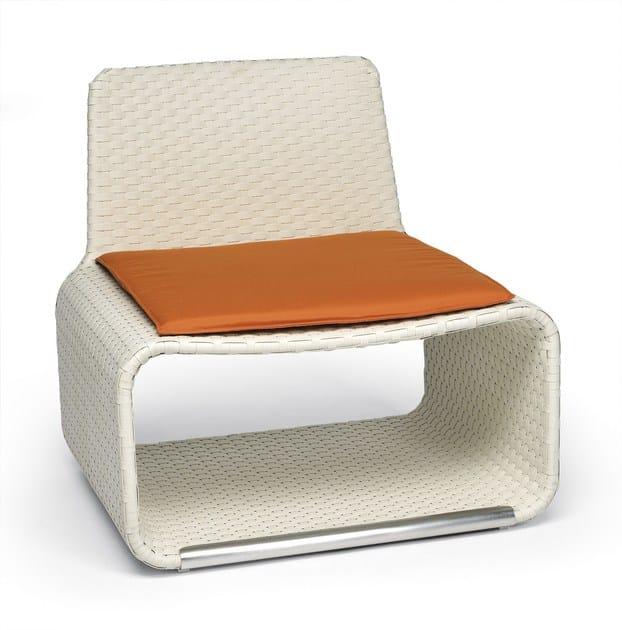 Aluminium garden armchair HAMPTONS | Garden armchair - Roberti Rattan