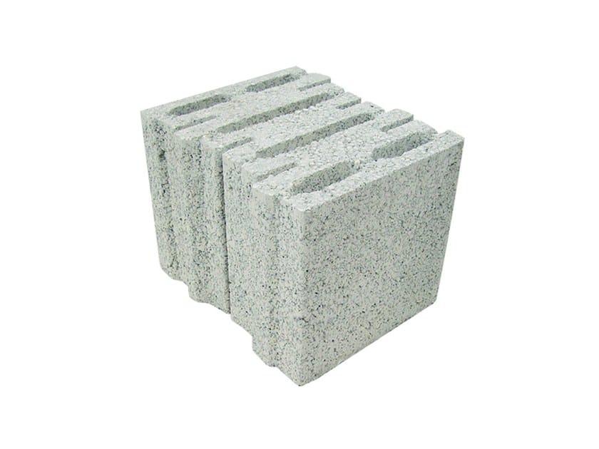 External masonry block in concrete PERLITECH™ PORTANTE - M.v.b.