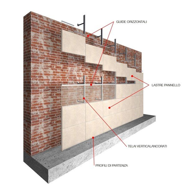 Prefabricated reinforced concrete panel T-Rock® CAVITY WALL - T-Rock® by Nuova Ceval