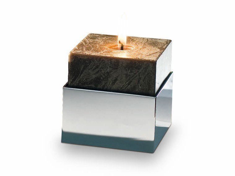 Chrome plated candle holder BK KNH - DECOR WALTHER