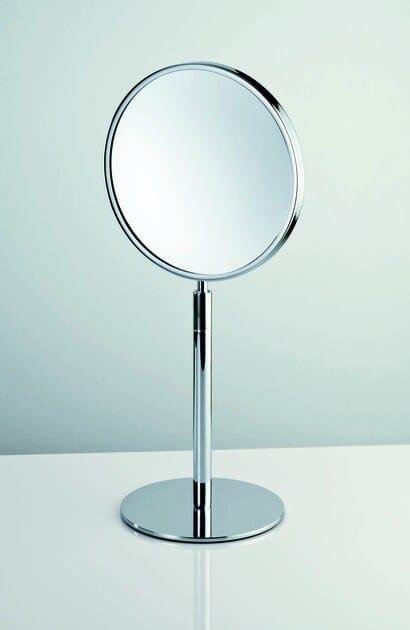 Countertop round shaving mirror SPT 11 - DECOR WALTHER