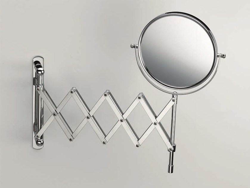 Round wall-mounted shaving mirror SPT 18 - DECOR WALTHER