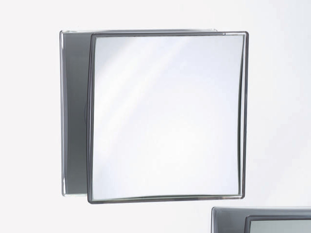 Square wall-mounted shaving mirror SPT 40 - DECOR WALTHER