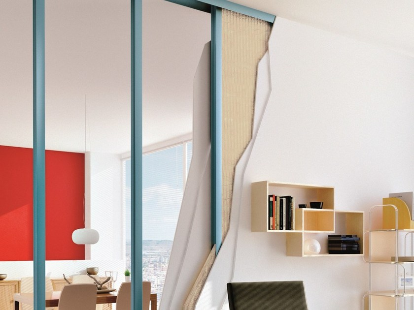 Prefabricated wall panel Habito Activ'Air® by Saint-Gobain Gyproc