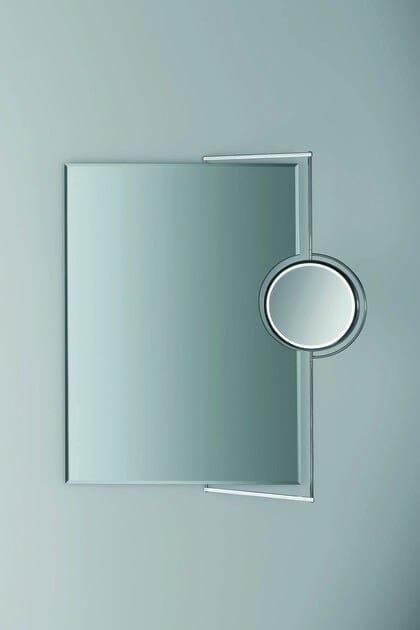 Rectangular wall-mounted bathroom mirror RECTO III - DECOR WALTHER