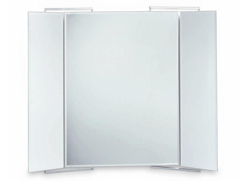 Rectangular wall-mounted bathroom mirror RECTO V - DECOR WALTHER