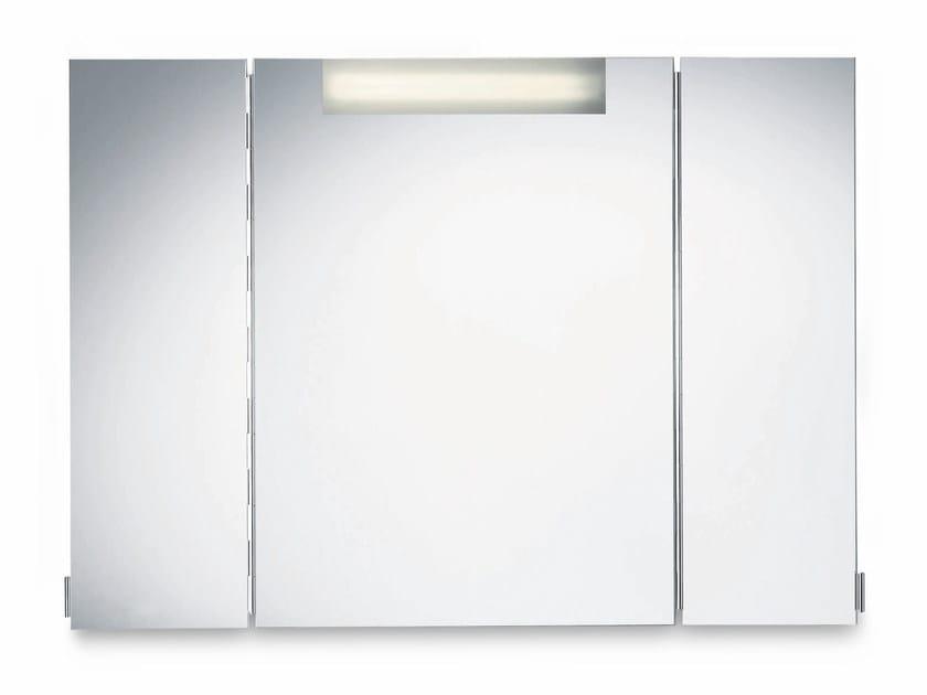 miroir mural avec clairage int gr pour salle de bain luz 3 by decor walther. Black Bedroom Furniture Sets. Home Design Ideas