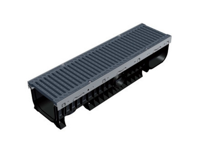 Drainage channel and part PLASTIC FLY 200 LOW - GRIDIRON GRIGLIATI