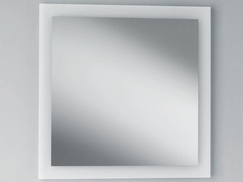Square wall-mounted bathroom mirror SPACE 56060 - DECOR WALTHER