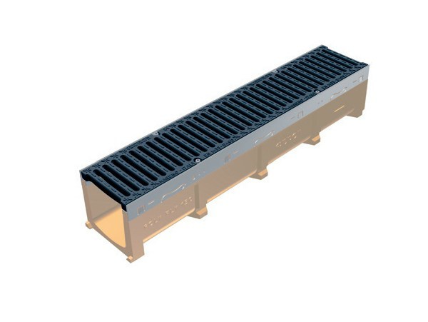 Drainage channel and part POLY FLY 150 - GRIDIRON GRIGLIATI