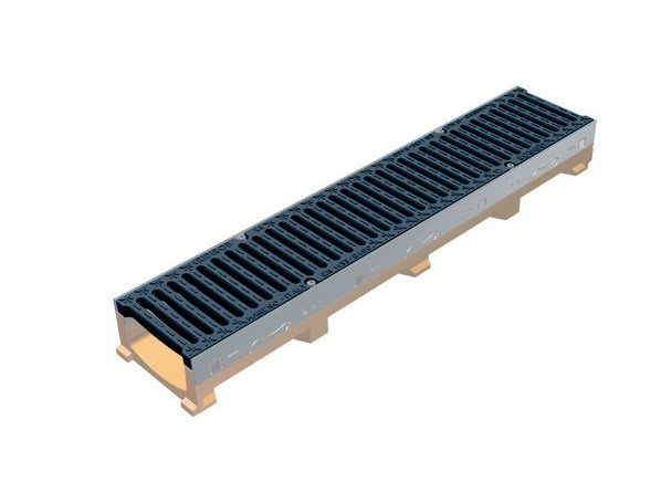 Drainage channel and part POLY FLY 150 LOW - GRIDIRON GRIGLIATI
