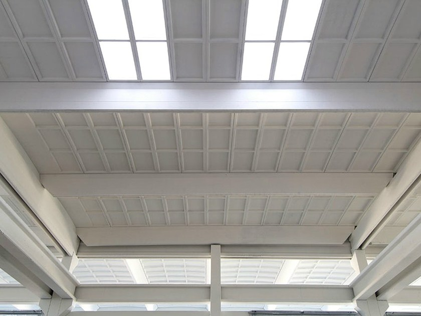 Precast reinforced concrete roof PANTHEON - Premac Prefabbricati
