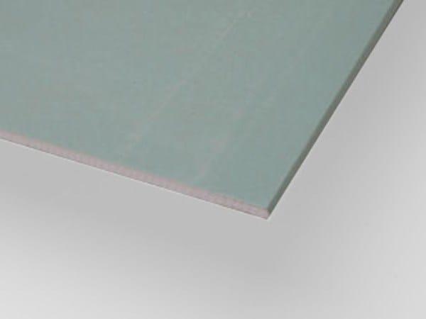 Moisture resistant gypsum plasterboard IDROLASTRA H - Knauf Italia