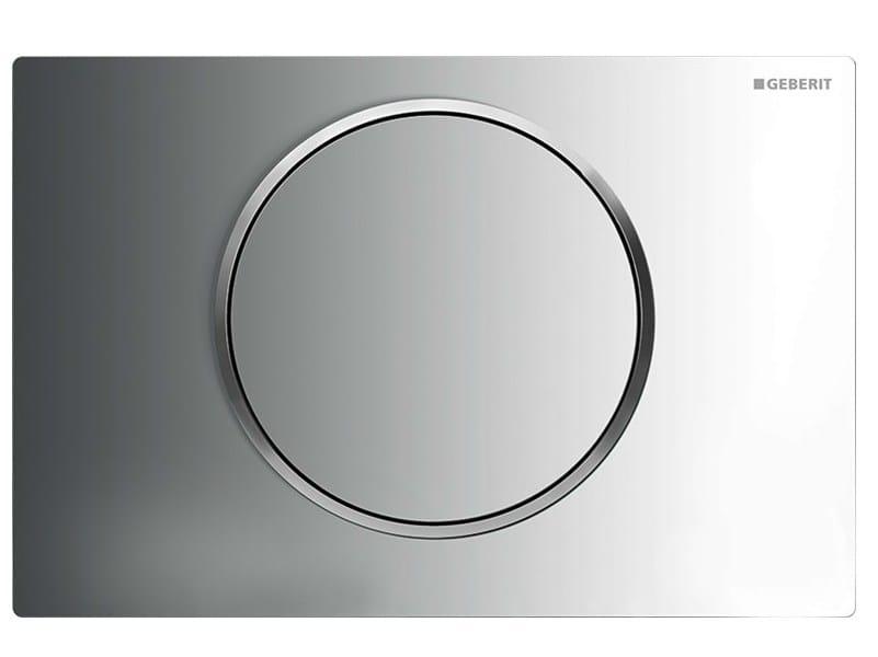 Placca di comando per wc in acciaio inox sigma10 geberit for Geberit italia