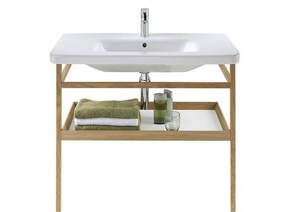 Oak console sink DURASTYLE | Oak console sink by Duravit