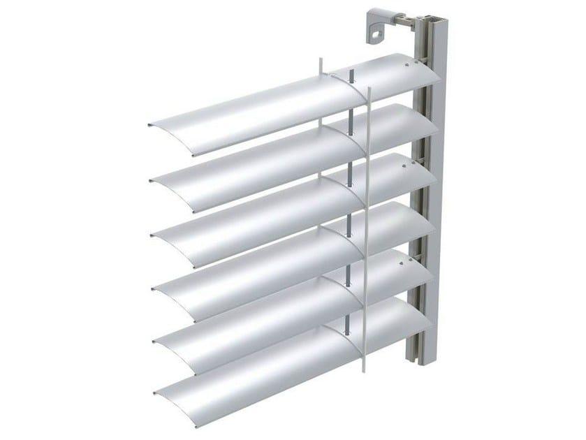 Sliding aluminium solar shading ARO 65 | Solar shading by HELLA