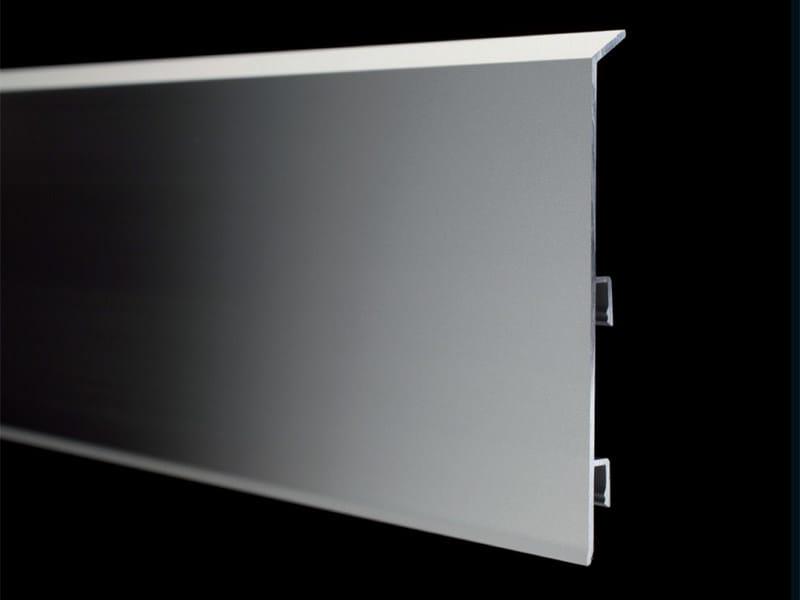 Aluminium Skirting board METAL LINE 95 - PROFILPAS