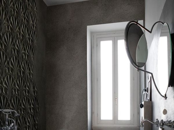 Wall effect bathroom wallpaper CICADEA - Wall&decò