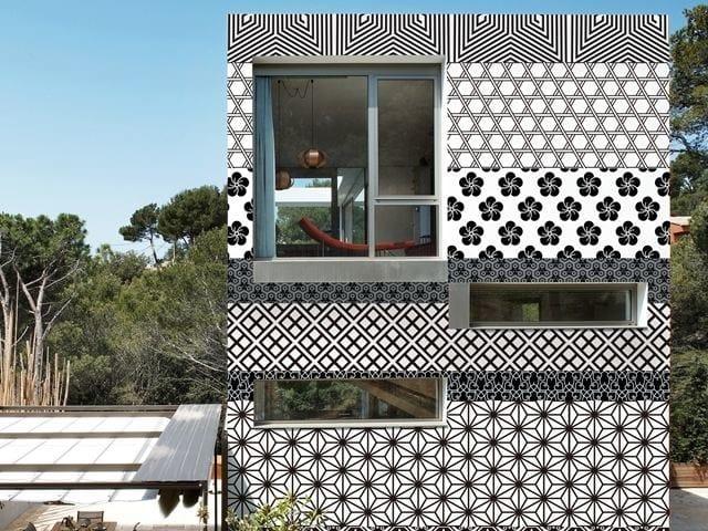 Motif outdoor wallpaper TOKYO STRIPES - Wall&decò