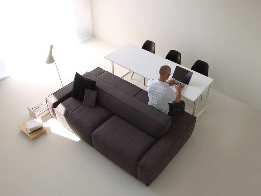 Sofa / table ISOLAGIORNO™ EASY+SLIM - LAYOUT ISOLAGIORNO™ by Farm